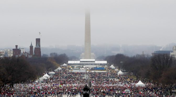 Washington Womens March January 21, 2017 Getty Images